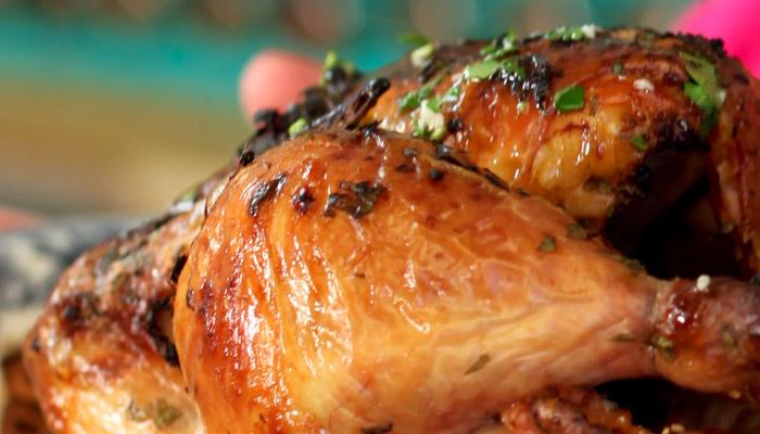 Pollo asado a la provenzal, una receta fácil y deliciosa