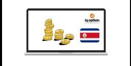 IQOption Costa Rica plataforma estable y segura para invertir tu dinero